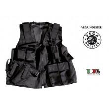 Gilet Militare Sicurezza Esercito Tattico in Cordura Vega Holster Italia Vigilanza GPG IPS Art. 2ET00
