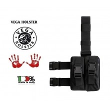 Kit Cosciale Per Quattro Caricatori, Doppio Uso  Vega Holster Italia Art. 2K93