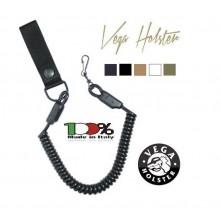 Correggiolo a Nastro per Pistola Passante In Cordura con Finali Termofusi Vega Holster Italia  Art. 2V20