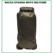 Sacco Stagno Verde cm 57 x 30 cm Militare Esercito Bikers Motociclista Art.30520B