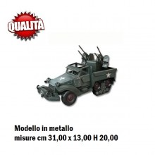 Riproduzione In Metallo US HALF TRUCK M3 Art.17816405