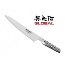 Coltello Forgiato Professionale Cuochi Chef Carne cm 21 Global G3 Art. G-3
