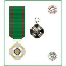 Croce Medaglia Cavaliere Ufficiale Della Repubblica New Art.EUMAR-1
