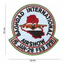 Patch Toppa Ricamata Baghdad International Airshow  Art.442306-722
