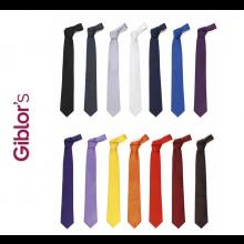 Cravatta Professionale Uomo Tinta Unita Giblor's Italia Art. 511