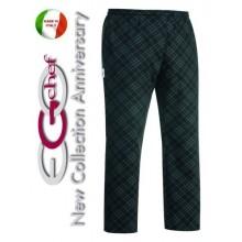 Pantalone Pants Hose Culisse Cuoco Chef Professionale Ego Chef Italia Iron Art.3502130A