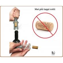 Cavatappi Cava Tappi Leva Tappi Professionale a Pressione Mai più Tappi Rotti Vin Bouquette FID 010 Art. FID010