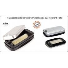 Spazzola Raccogli Briciole da Tavola Professionale Inox Bar Ristoranti Cameriere Cilio 305005 Art.5110130