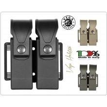 Doppio Porta Caricatore Bifilare Universale Vari Colori Vega Holster Italia Art.8DMH01