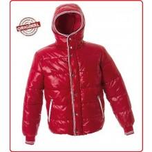 Giubbino in Nylon Morbido Lucido Portland Red Art.988904