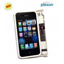 Cover Custodia IPHONE 4 con Spray Anti aggressione Bianco ULTIMO PEZZO Art.SG000012