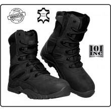 Anfibi Stivaletto Stivale Scarponcino Neri Pelle Cordura Tactical Boots Recon 101 INC Militare Esercito Marina Parà Soft Air Caccia Art.231175