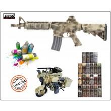 Vernicie Spray Bomboletta Militare Opaca  Per Mezzi o Fucili  Armi Vere e da Soft Air 150 ml FOSCO Art.469313