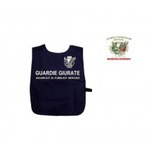 Corpetto Fratino Gabardina  Blu Con Stampa GPG IPS Guardia Particolare Giurate Art. AP4-GPG.IPS