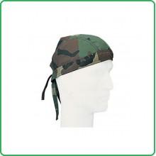 Berretto Bandana Militare Esercito Italiano Verde o Woodland Art.0321
