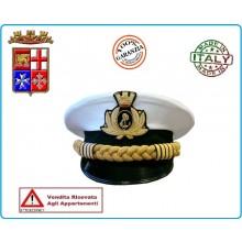 Berretto Tesa Ordinanza Marina Militare Italiana Capo di Stato Maggiore FAV Autore VENDITA RISERVATA  Art.NSD-115