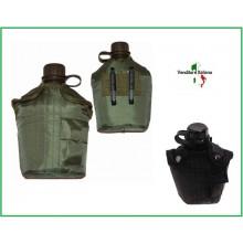 Borraccia Militare Termica Antuurto Verde o Nera Art.341104
