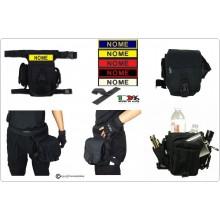 Hip Bag Marsupio Cosciale SECURITY SWAT POLIZIA CARABINIERI Personalizzabile Trasporto Attrezzatura o Armi Art.30701A