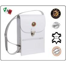 Borsello in Pelle Modello Polizia Locale Lombardia Vega Holster Italia  Art.1V77