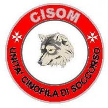 Ricamo Canottiglia Soccorso CISOM  con Velcro Art.NSD1124