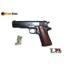 Pistola Salve Scacciacani Starter per Gare Bruni Mod.96 8mm. Colt 45 Prodotto Italiano Art.RP031815
