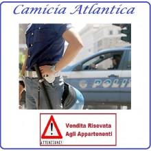 Camicia Manica Corta Polizia di Stato Atlantica Con Bottoni Art.PS-FAV-C