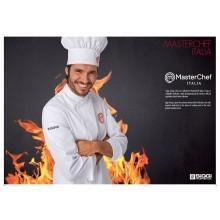 La Giacca Cuoco Chef Master Chef Masterchef Originale Siggi Horeca Personalizzata con il Tuo Nome Ricamato Art. 28GA0197
