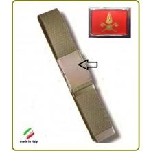 Cintura Canapa Verde Vigili Del Fuoco Vetrificata Art.CIN-4