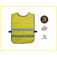 Corpetto Fratino Gilet Alta Visibilità Giallo Personalizzato Vega Holster Italia  Art.4AV04N