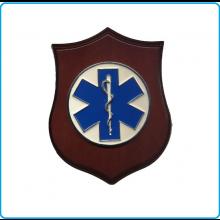 Crest Croce Esculapio Soccorso Sanitario Idea Regalo cm. 24 x 18 Art.08019
