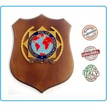 Crest International Police Association Servo Per Amikeco Art.IP1