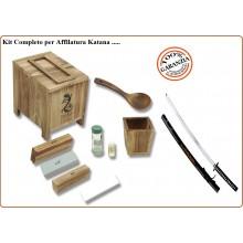 Kit Professionale per Affilatura Katana Tanto .. Sword Sharpening Kit Art.MCMA-SH1