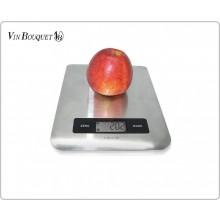 Bilancia Digitale da Cucina Professionale Cuochi Chef Pasticceri in Acciaio da 1 Gr a 5 Kg Vin Bouquet Art.FIH027