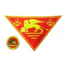Foulard Sciarpa Triangolo Btg. San Marco Lagunari Marina Militare Italiana Art.NSD-LAG1