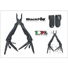 Pinza Coltello Multiuso con Manico in Alluminio e ABS  Black Fox Militare Civile Sopravvivenza Emergenza Art.BF-202