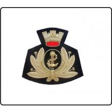 Fregio Canuttiglia  Berretto Marina Militare Italiana Ammiraglio di Squadra Art.NSD-AS