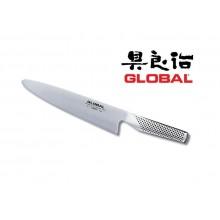 Coltello Forgiato Professionale Cuochi Chef Affettare cm 21 Cuochi Chef Global G1Art. G-1