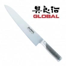Coltello Forgiato Professionale Cuochi Chef Trinciante Cucina cm 27 Global G17 Art. G-17