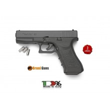 Pistola a Salve Bruni Gap Glock 17 Nero 8 mm a Salve Prodotto Italiana Art.RP032215