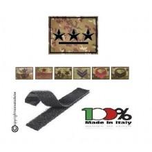 Gradi con Velcro Vegetati Esercito Italiano Scegli il Tuo Grado Art. NSD-VEG-V