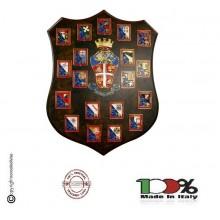 Maxi Crest Regioni Legioni Carabinieri Idea Regalo Promozioni Pensionamenti Prodotto Ufficiale Giemme Art.C104