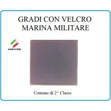 Grado a Velcro Giubbotto Navigazione Marina Militare Comune di 2 Classe Art.M-1
