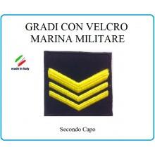 Grado a Velcro Giubbotto Navigazione Marina Militare Secondo Capo  Art.M-9