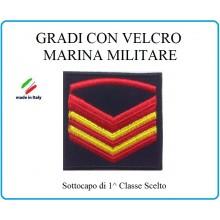 Grado a Velcro Giubbotto Navigazione Marina Militare Sottocapo di 1 C. Scelto  Art.M-7
