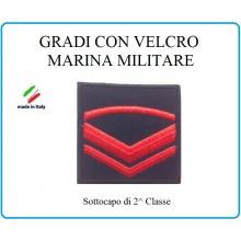 Grado a Velcro Giubbotto Navigazione Marina Militare Sottocapo di 2 C.  Art.M-5