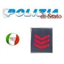 Gradi Tuta Ordine Pubblico Polizia di Stato Assistente Capo Art.PS-OP3