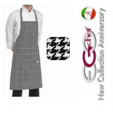 Grembiule Cucina Pettorina con Tascone cm 90x70 Alfred Art.704123