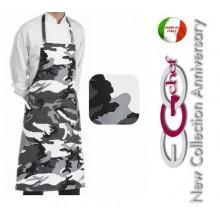 Grembiule Cucina Pettorina con Tascone cm 90x70 Artic Art.6103111A