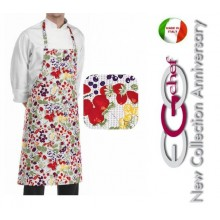 Grembiule Cucina Pettorina con Tascone cm 90x70 Bilberry Art.704117