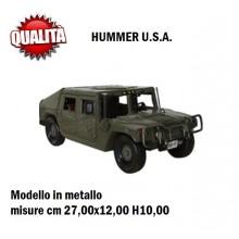Riproduzione In Metallo Hummer U.S.A. Art.17816412